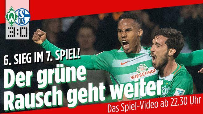 1. Bundesliga: Bremen - Schalke