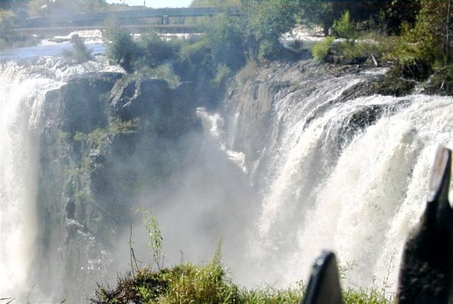 The Great Falls In Paterson Nj Is The Second Tallest