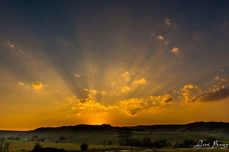 September 1-st sunset