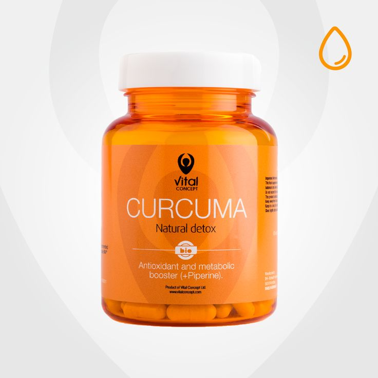 100% bio food supplement made of bio Curcuma extract (95% Curcumin) and black pepper with detoxifying and antioxidant action. Relieves discomfort caused by joint problems. Buy online now.