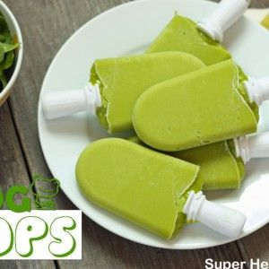 Green Frog Pops fruit and veggie pops for kids (and adults)