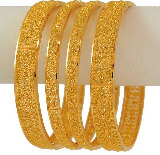 The 25 best Gold bangles design ideas on Pinterest