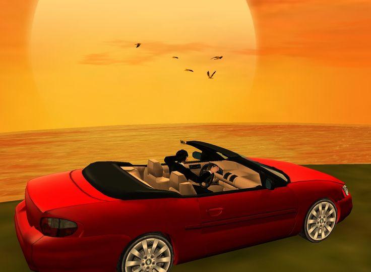 """Ride into the Sunset"" imvu trop cool !"