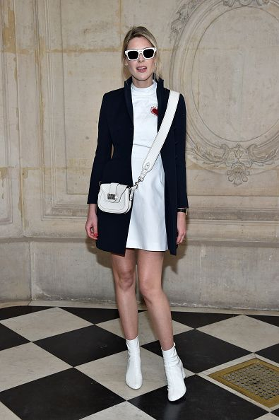 Sofie Valkiers attends the Christian Dior Haute Couture Spring Summer 2017 show as part of Paris Fashion Week on January 23 2017 in Paris France