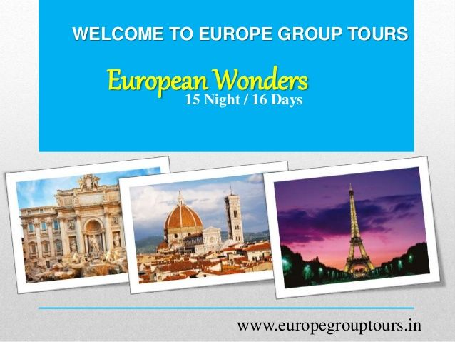 Best Europe Holiday Packages Images On Pinterest Europe - Europe vacation packages