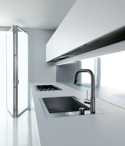 #kitchen design #interiors #minimalism - Fitted kitchens | Kitchen systems | WK6 | Boffi | Piero Lissoni. Check it out on Architonic