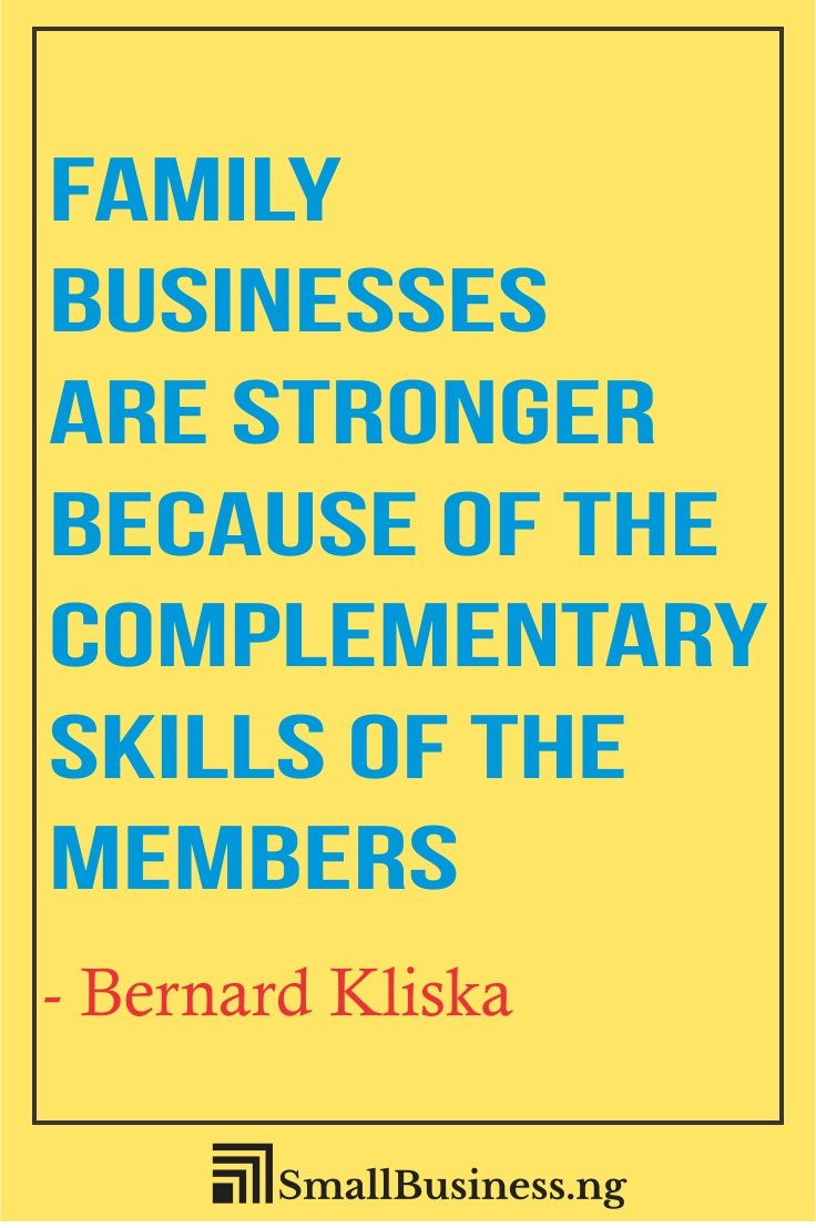 Family Business Quotes Smallbusinessify Com Business Quotes Funny Business Quotes Great Motivational Quotes