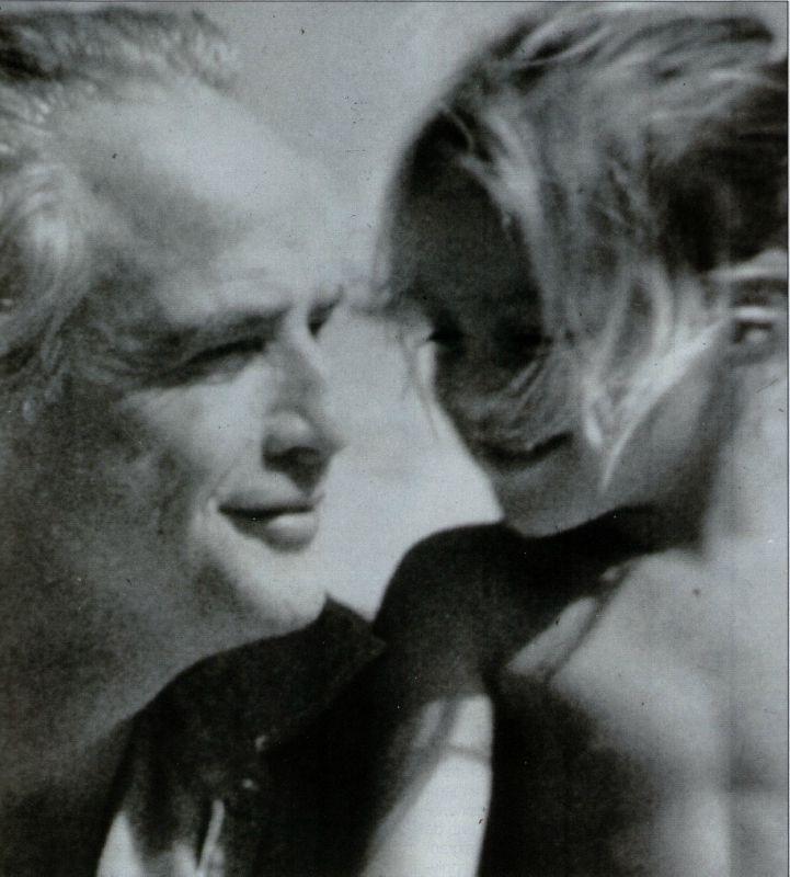Cheyenne Brando with father