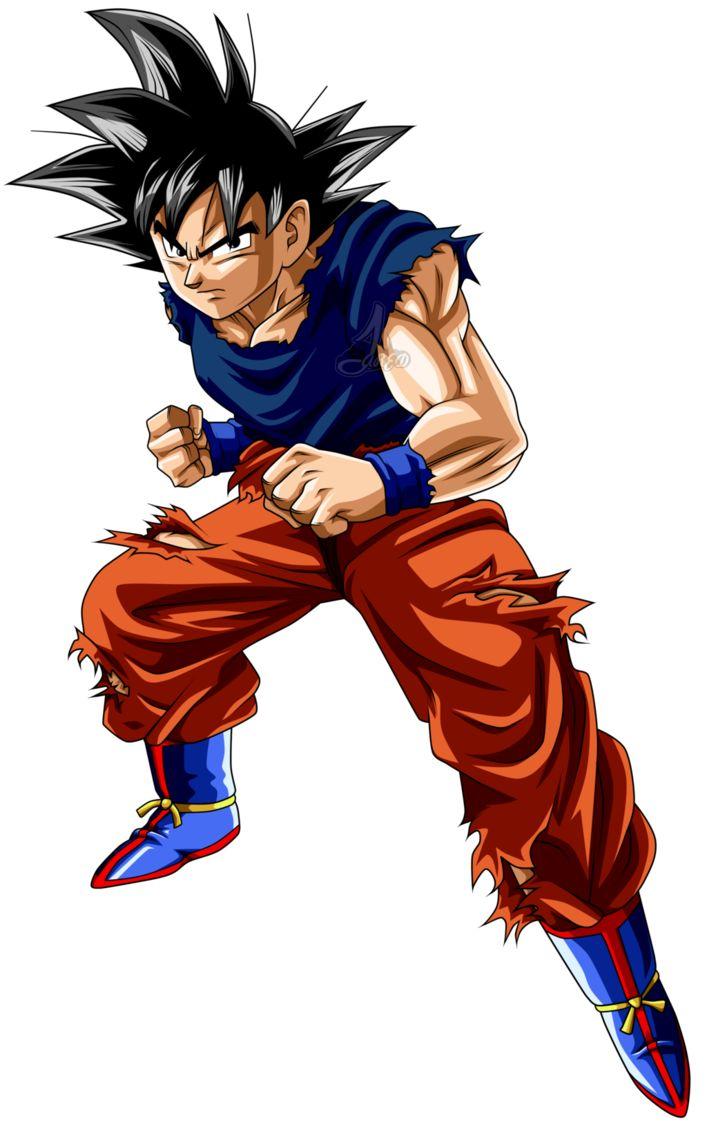 Son Goku DBS Herido v2 L by jaredsongohan