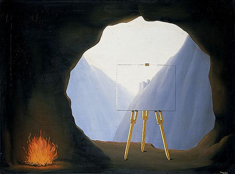 René Magritte, La Condition humaine, 1934 on ArtStack #rene-magritte #art