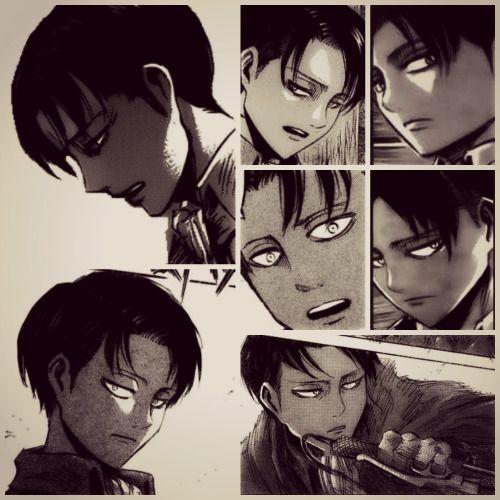 """Shingeki No Kyojin Favorite Photos Of Levi In The Manga"