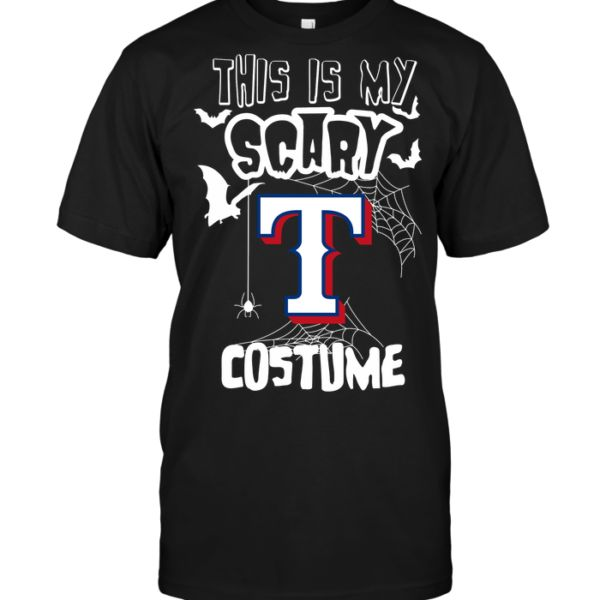 This is my scary Texas Rangers – POISETEE