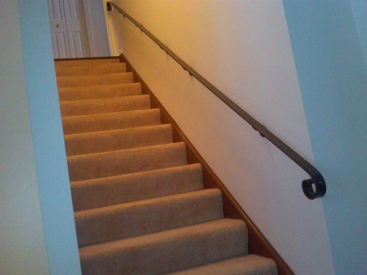 Wall+mounted+handrails+for+stairs | Heritage Industries, Inc. ©