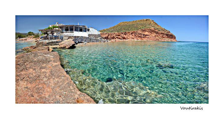 Xiona Beach - Palekastro -Sitia Crete.