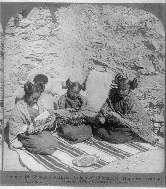 HOPI GIRLS , 1903