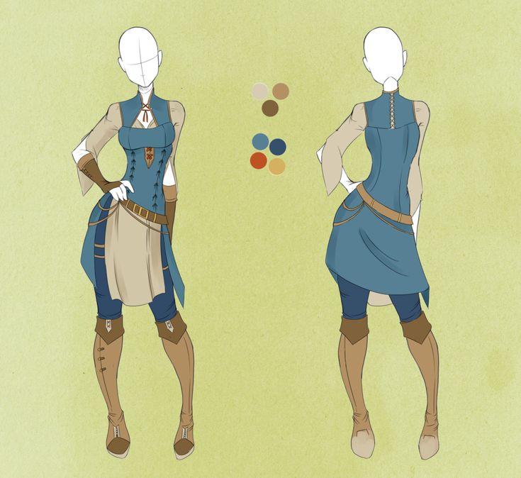 :: Commission Outfit April 15 :: by VioletKy.deviantart.com on @deviantART