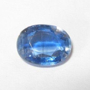 Batu Permata Kyanite Biru Oval Cut 1.48 carat