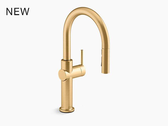 K 22972 Crue Pull Down Single Handle Kitchen Faucet Kohler Canada Single Handle Kitchen Faucet Kitchen Faucet Kitchen Sink Faucets