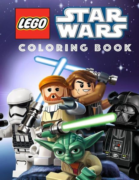 LEGO STAR WARS Coloring Book: Great Coloring Book for Any Fan of Lego.
