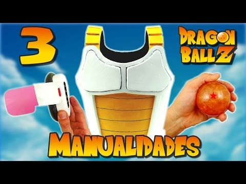 3 Manualidades de Dragon Ball Z (RECOPILACIÓN) - YouTube