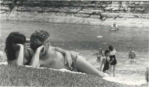 Barton Springs in Austin, 1982
