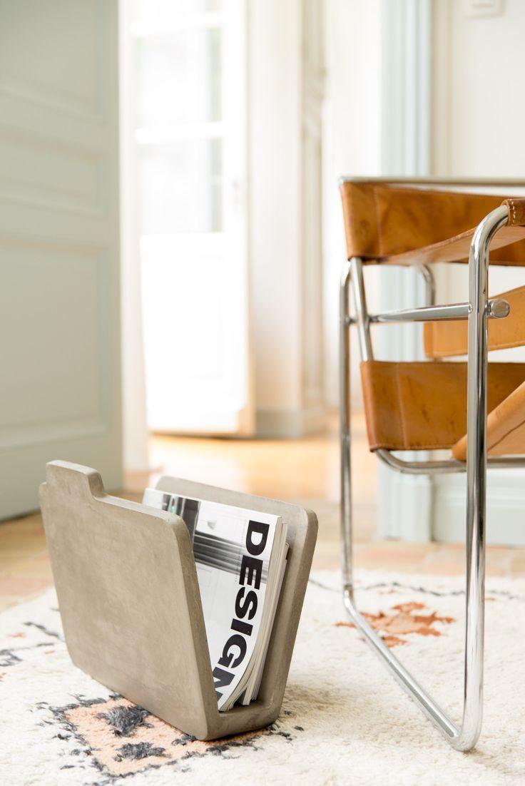 Lightweight Concrete Magazine Rack Doc By Lyon B Ton Design Bertrand Jayr