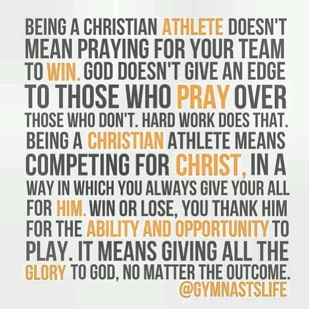 Swim crosscountry soccer volley ball Christian athlete