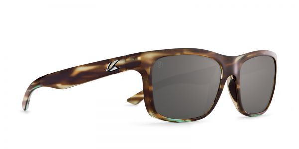 Kaenon - Clarke Abalone Sunglasses, G12 Polarized Black Mirror Lenses