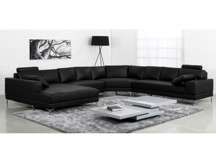78 best ideas sobre sof negro en pinterest sof - Sofa cuero negro ...