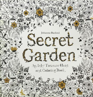 Secret Garden Coloring Book Waterstones 5 Trends That Are Boosting Sales Bookstr