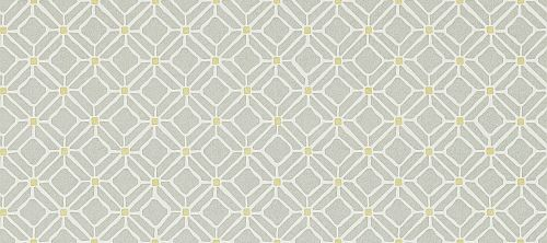Fretwork Silver Linden wallpaper by Sanderson