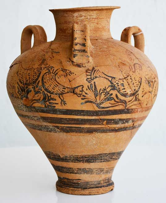 Important Mycenaean finds at Dromolaxia-Vyzakia in Cyprus