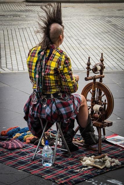 Edinburgh Fringe Festival by virtualwayfarer, via Flickr