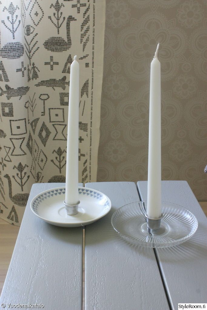 kynttilänjalka,itse tehty,kierrätys,Tee itse - DIY