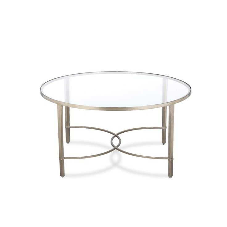 Liang & Eimil Cumberland Antiqued Silver Coffee Table – Shropshire Design