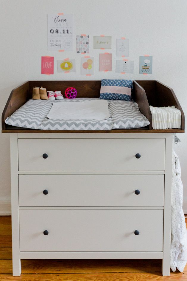 ber ideen zu wickeltisch kommode auf pinterest. Black Bedroom Furniture Sets. Home Design Ideas