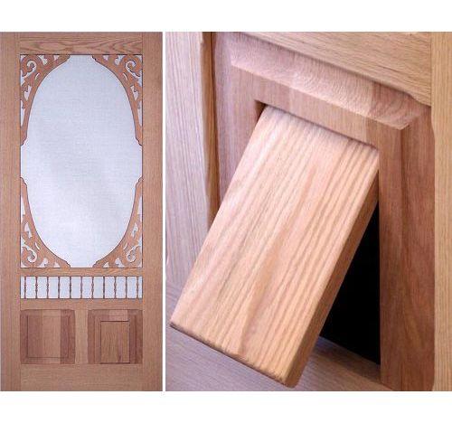 Pet Doors, Dog Doors, Custom Pet Doors for Your Screen Door - Vintagedoors