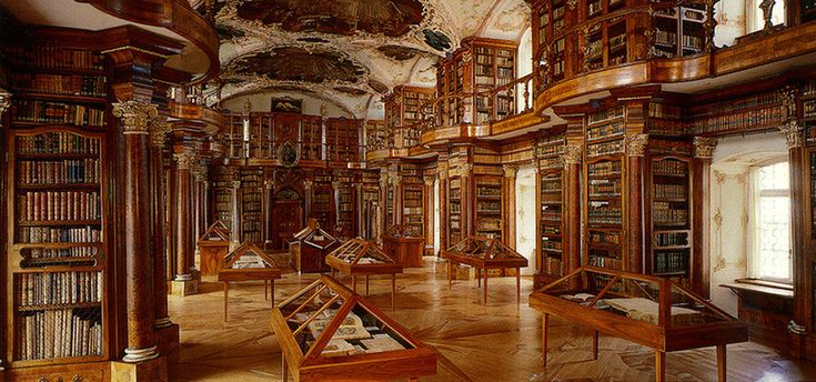 Abbey Library of Saint Gall – Saint Gallen, Switzerland | Atlas Obscura