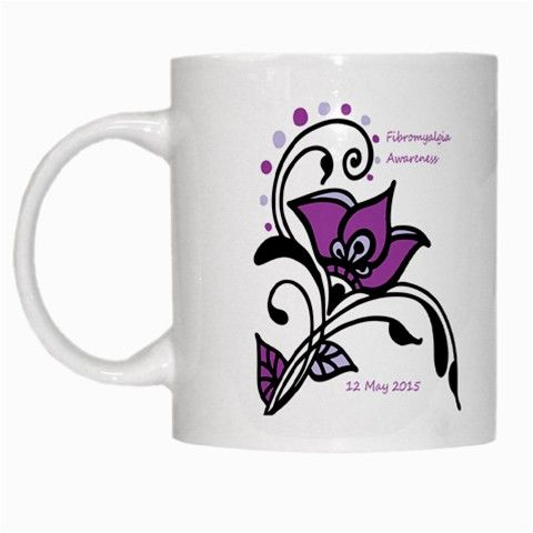 2015 Awareness Day White Coffee Mug
