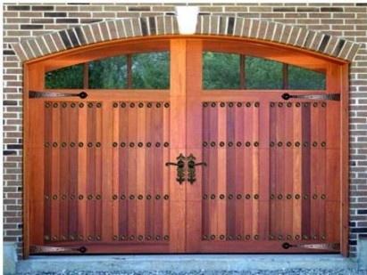Some extravagant garage door decorative hardware
