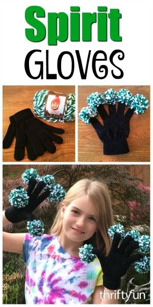 This is a guide about making spirit gloves. Show your team spirit and keep your hands warm at the same time.