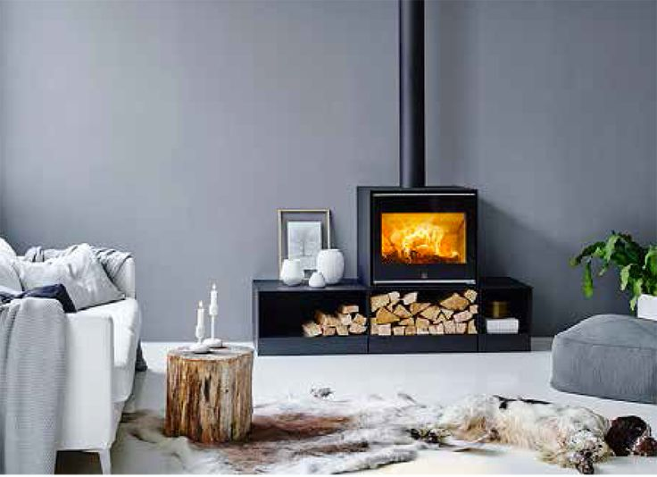 156 best stoves po les bois images on pinterest for Poele a bois contemporain