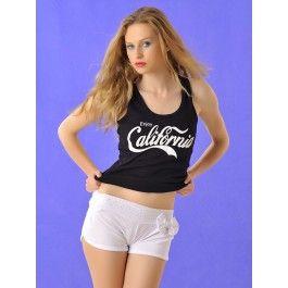 Pantalón Blanco corto Mujer PA175