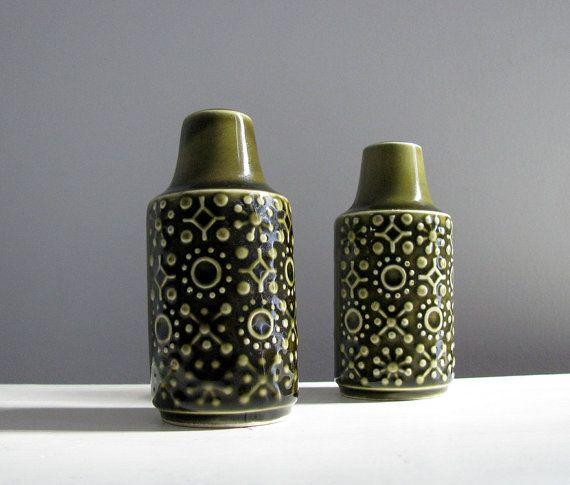 Vintage Celtic Connemara Erin Green Pottery
