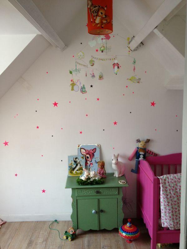 Lizzies room, ferm living stars