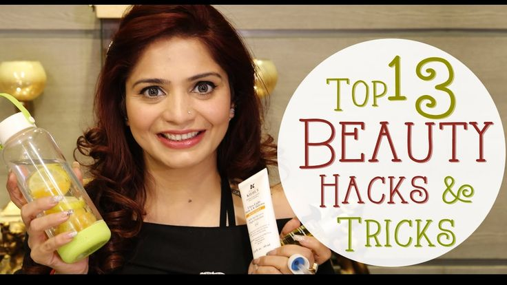Here are Top 13 Beauty and Makeup Hacks for Girls. Check out how these easy Makeup Tricks and Hacks on how to apply Foundation with Concealer, how to apply Eye liner, How to use Eyelash Curler etc. revealed in this video on Krushhh by Konica.  web: https://www.youtube.com/watch?v=EBt9K9q-wlE