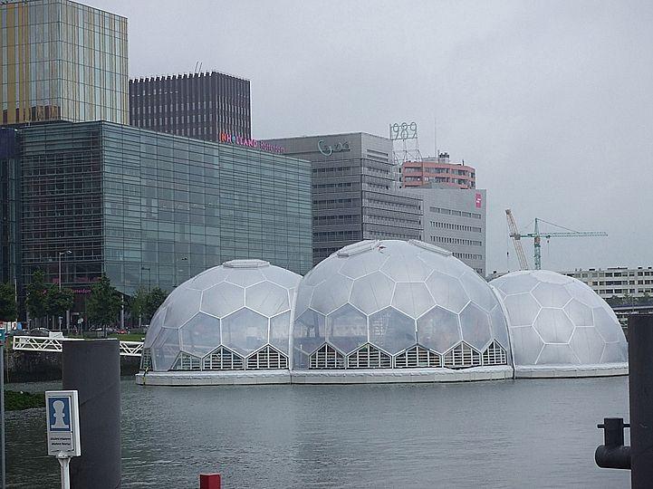 Drijvend Paviljoen, Rotterdam (Public Domain Architecten en Deltasync)