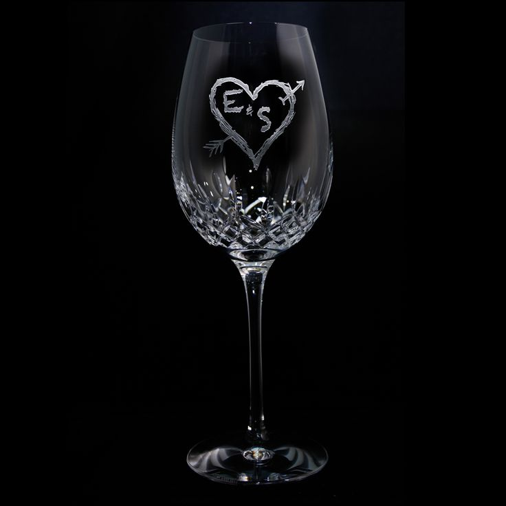 Wedding Gift Crystal Glasses : Best images about Bridesmaid Gifts, Maid of Honor Gifts, Wine Glasses ...