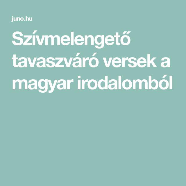 Szívmelengető tavaszváró versek a magyar irodalomból