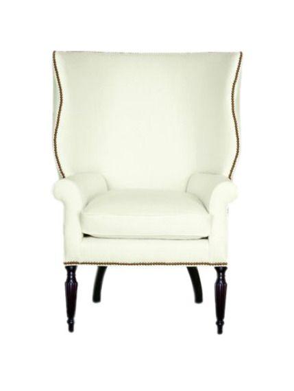 Delightful Victoria Hagan The Wainscott Wing Chair Furniture Club